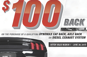 Dynomax promotion
