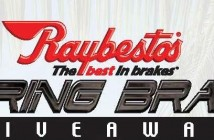 Raybestos Spring Brake Giveaway
