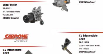 CARDONE new parts