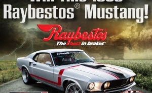 Win this Mustang - Rev Up Your Walls
