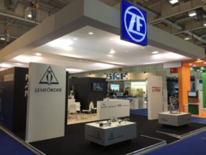 ZF at Autopromotec 2017 Photo by Mark Phillips
