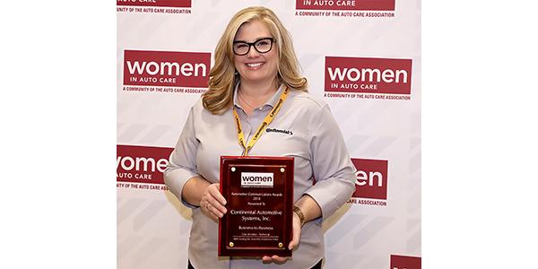 Continental AWA Award 2018, Automotive Communications Award
