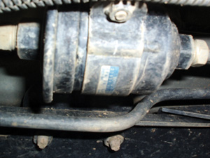 if a fuel filter appears old and neglected, it's probably due for replacement.